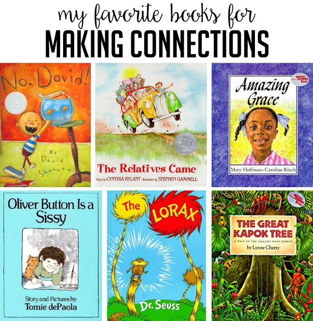 Read Aloud Books for Making Connections - Susan Jones Teaching