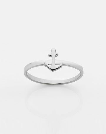 meadowlark | anchor stack ring