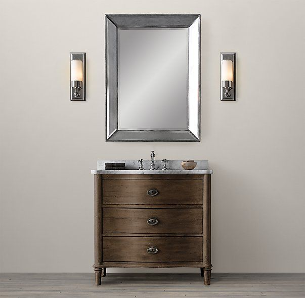 Picture Collection Website Empire Rosette Single Vanity Sink