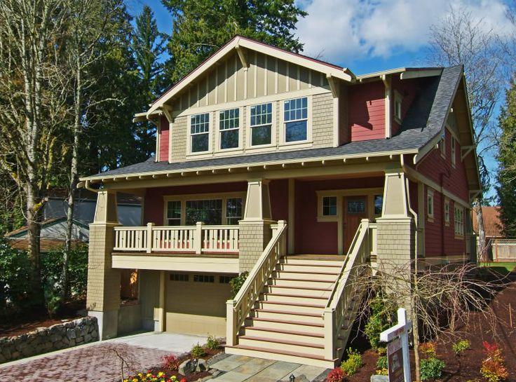 Craftsman Bungalow Home Exterior 231 best craftsman style bungalows images on pinterest | craftsman