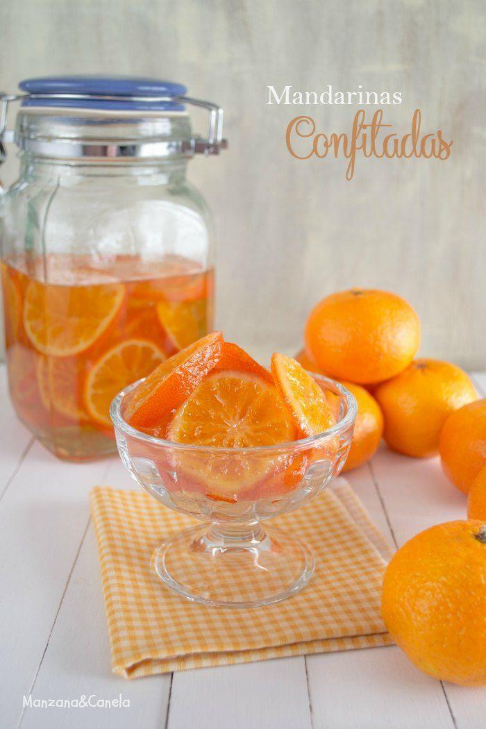 Cómo confitar mandarinas. Naranjas Jiménez #SiLaVidaTeDaNaranjas #NaranjasJimenez www.naranjasjimenez.com. me gustó el tarro