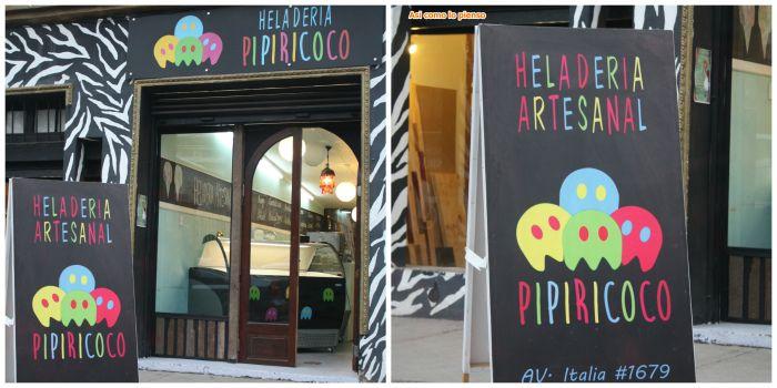 Iniciativa blogger traveller para mostrar nuestras ciudades con un tema asignado por mes: Heladera Barrio Italia