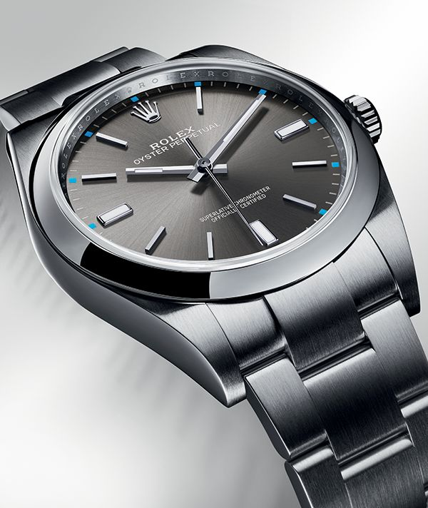 The Rolex Oyster Perpetual models are easy to wear, versatile, and come with a long-standing history of precision and reliability deeply rooted in the origins of Rolex.