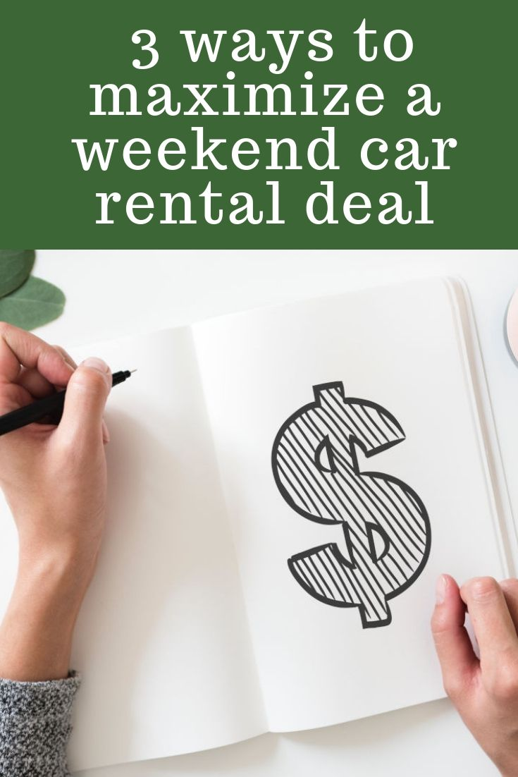 Get The Most Bang For Your Buck Out Of A Weekend Car Al Deal