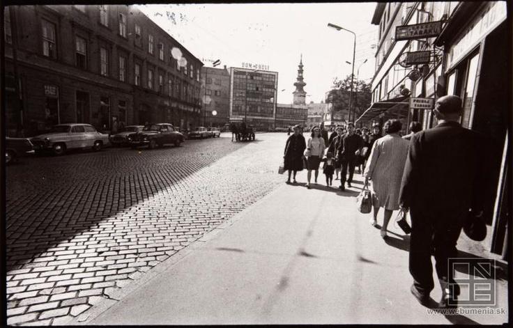 Pavol Poljak: Obchodná street (1965)