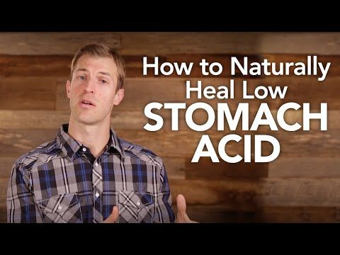 5 Steps to Naturally Heal Low Stomach Acid - Dr. Axe; low energy, digestion problems