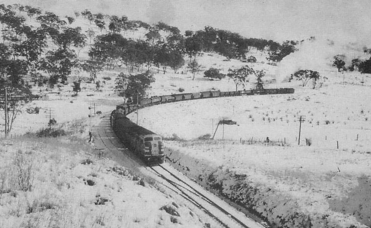 Snowstorm Goulburn, 17th July 1965