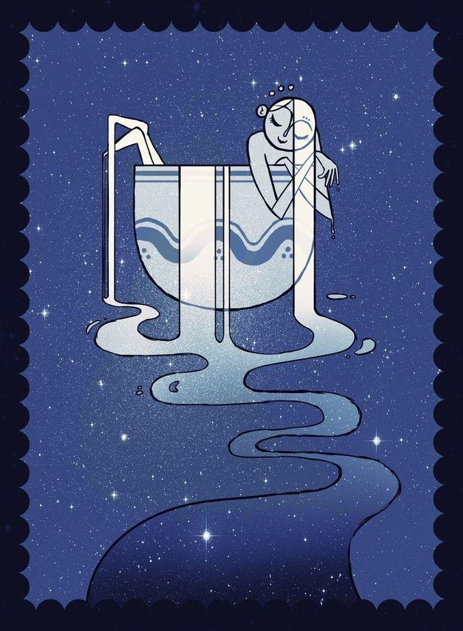 Прикольные картинки знак водолея, алфавит картинка открытка
