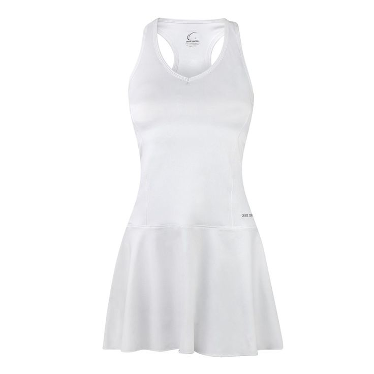 Wimbledon White Fit & Flair Dress. Feminine Fit & Flair style. Superior Moisture Transport System - Helps to keep you dry, comfortable, and cool. Dries Instantly. SPF 50+ Technology. Wrinkle-Free, Tagless, & Travel Friendly. Lightweight Performance Fabric - Has a softer, more natural feel, for incredible comfort and perfect for ALL sports and athletic activity or even wearing casually! Manufacturer Warranty Limited to 1 year.
