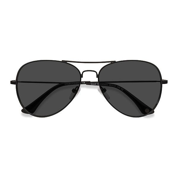 Men's Good vibrations - Black aviator metal - 15925 Black Rx... ($39) ❤ liked on Polyvore featuring men's fashion, men's accessories, men's eyewear, men's sunglasses, mens aviator sunglasses, mens aviators, mens sunglasses and mens eyewear