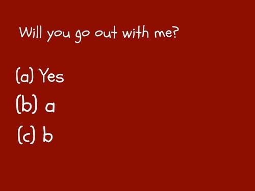OMG, this is the correct way to ask someone out.