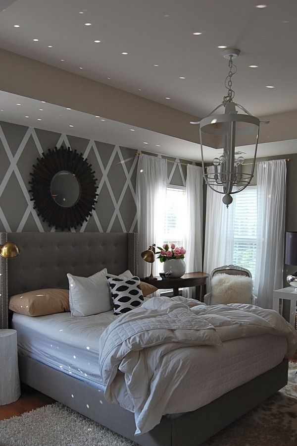 30+ Grey upholstered bedroom ideas inspirations
