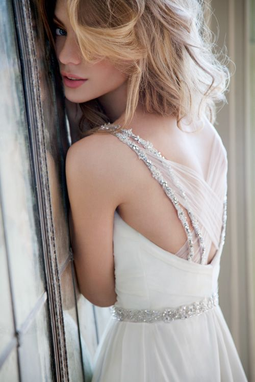 The back of this dress is amazing!