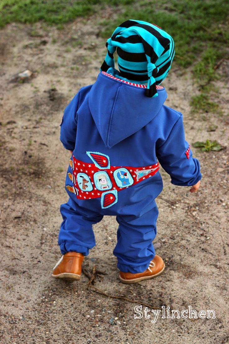 Stylinchen: So lässt sich der Farbenmix Overall Tommi als Outdoor Anzug nähen...