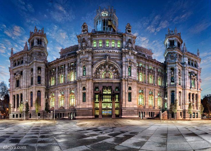 """Palacio de las Telecomunicaciones, Madrid, Spain - <a href=""""http://dleiva.com/"""">dleiva.com/</a>"""