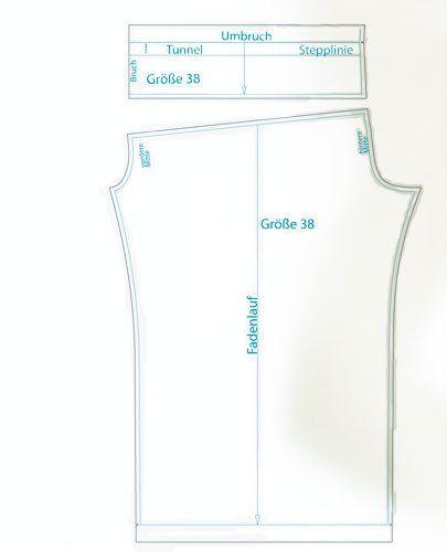 Schnittmuster: Sommerhose nähen - Anleitung zum Selbermachen - BRIGITTE