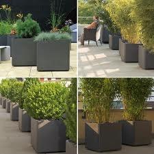 modern pot planters
