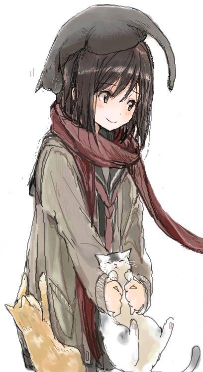 kirisawa saki,Anime Original,AO,Anime Art,Аниме арт, Аниме-арт,Anime,аниме