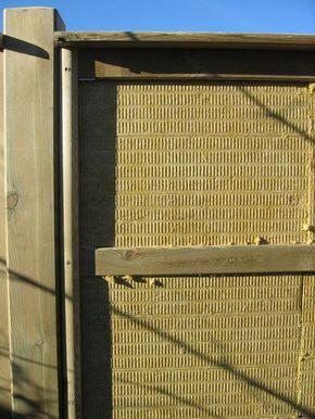 Lärmschutzwand im Selbstbau - Riegler Holzindustrie GmbH