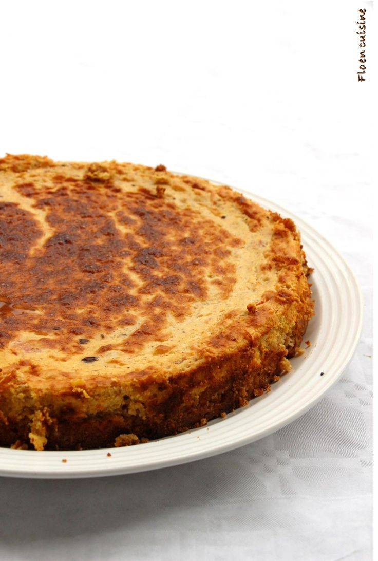 Cheesecake potimarron chocolat