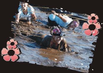 GRITTY GODDESS Obstacle course/Mud Run! Galveston, Tx !! NOV 3, 2012