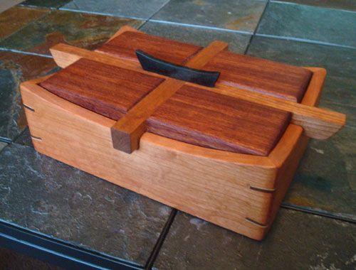Handmade Cherry Bubinga Keepsake Box