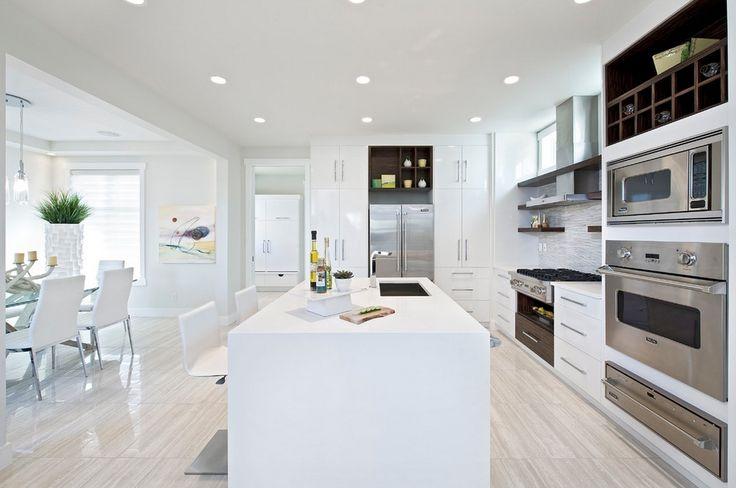 all white kitchen cabinets - Google Search