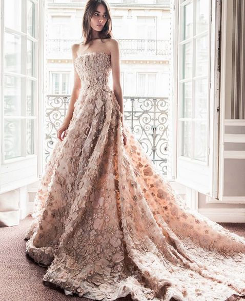 """""""Paolo Sebastian 2016-17 AW Couture A firm favourite on both the runway and red carpet, Paolo Sebastian specialises in couture tailored to accentuate the beauty of the individual. Each piece is..."""