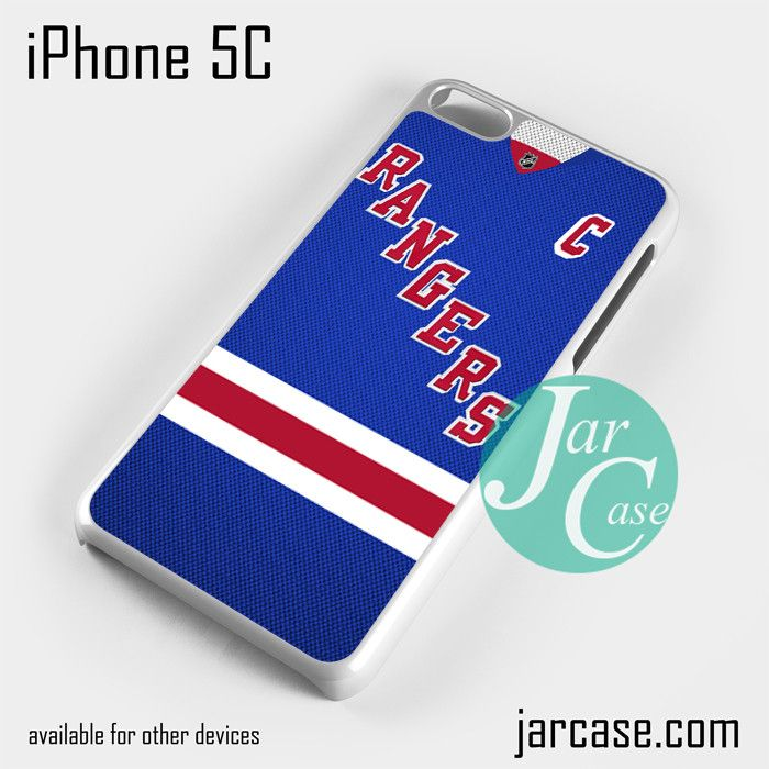 rangers hockey jersey Phone case for iPhone 5C and other iPhone devices
