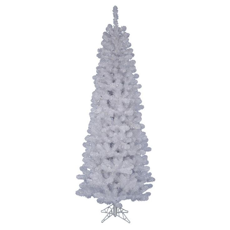 Have to have it. Salem Pencil Unlit Christmas Tree - White - $55.99 @hayneedle