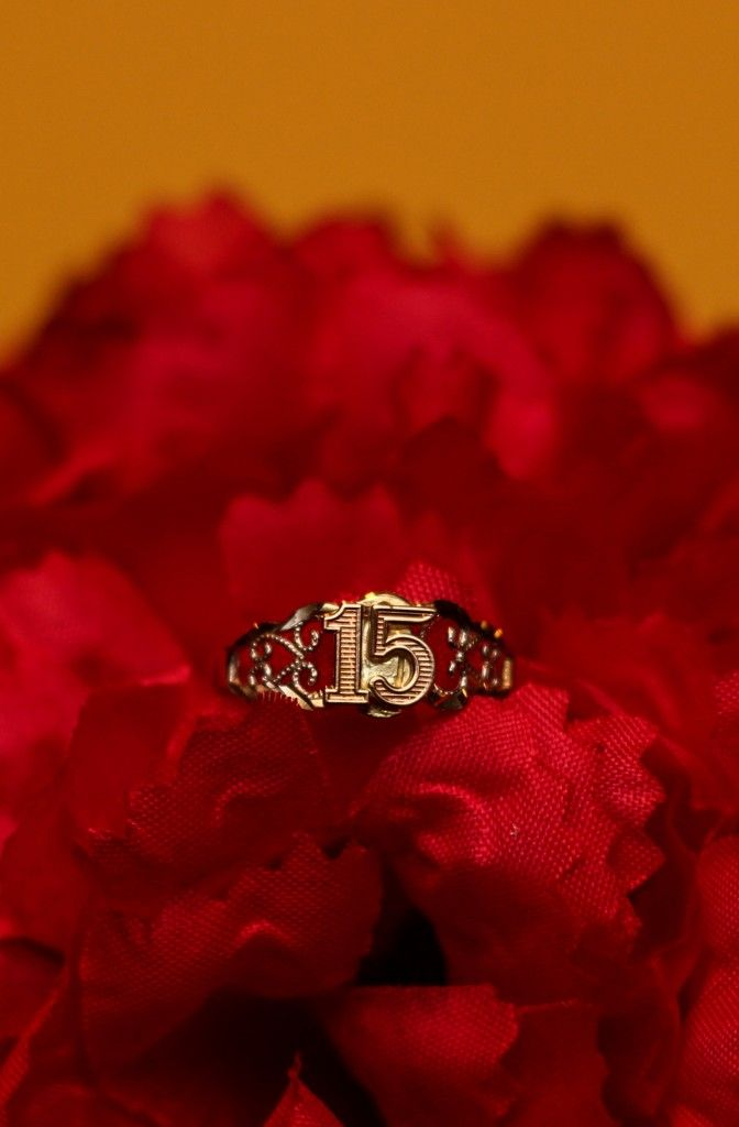 Quince ✺BLING✺ Any type of jewelry worn or given as a gift on your Quinceañera makes for a lovely photo as in this photo \\ Photo Credit: Scott Roth Events #photoidea #Quinceanera