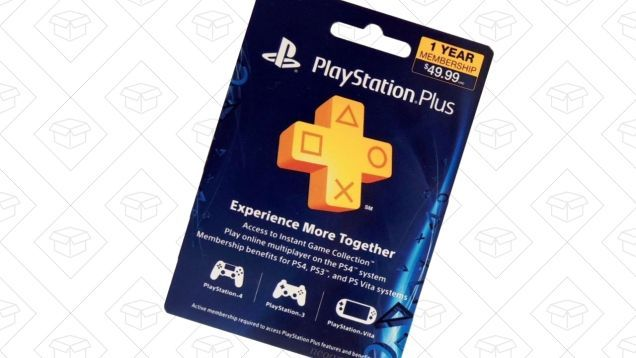 Add a Year to Your PlayStation Plus Membership For $40