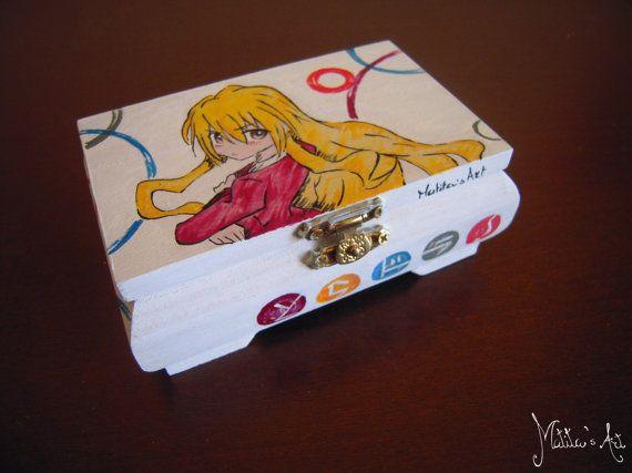 Toradora! box hand painted by Matita's Art