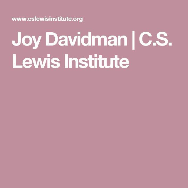 Joy Davidman | C.S. Lewis Institute