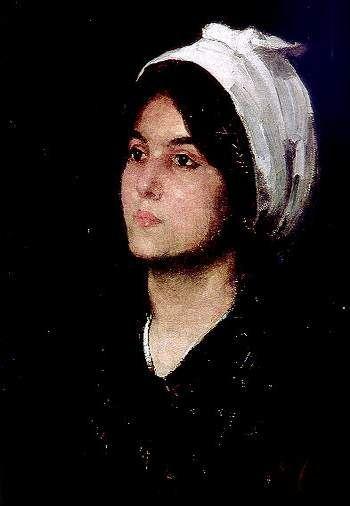 Fata cu tulpan - Nicolae Grigorescu