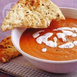 Foto recept: Tomaten-linzensoep