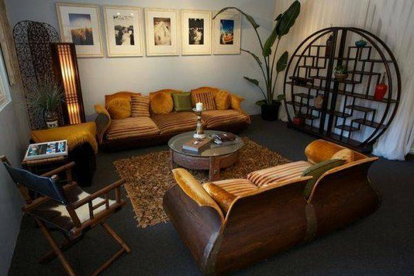 RARE Moroccan Couch and Loveseat — $5000 KENMORE, WASHINGTON