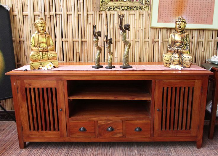 Authentic Balinese Timber Cabinet http://www.baligarden.com