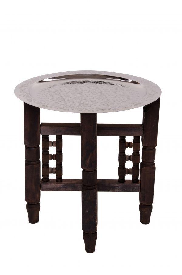Details Zu Orient Marokkanischer Orientalischer Messing Teetisch Tisch Beistelltisch Fes 40