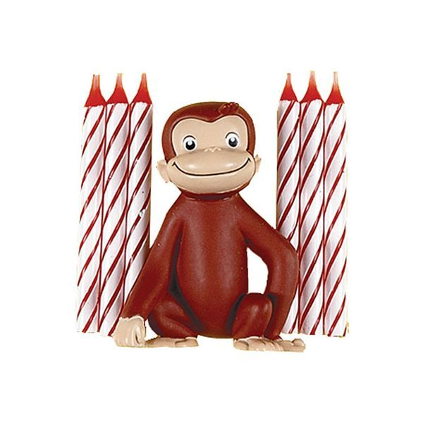 Curious George Cake Decorating Kit : 17+ images about Birthday, Curious George on Pinterest ...