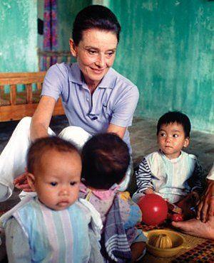 Audrey Hepburn, the humanitarian @Linda Bruinenberg Swoboda