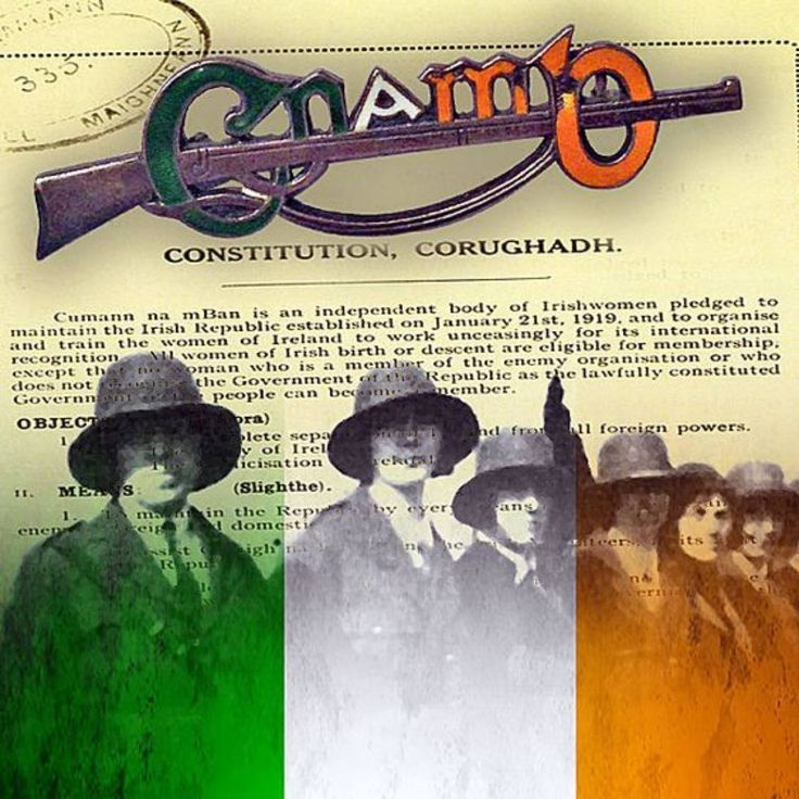 #OTD in 1922 – Cumann na mBan votes overwhelmingly to reject the Treaty. – Stair na hÉireann/History of Ireland