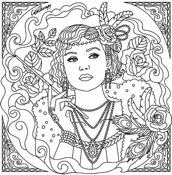Color Therapy Coloring Book Best Of Lady Color Therapy App Is Free Lortherapy Mandala Coloring Pages Color Therapy App Color Therapy