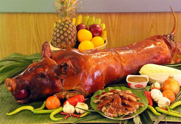 Lechon Traditional Filipino Food For New Year S Eve Recipes