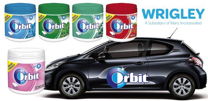 """El bote de chicle Orbit, perfecto para el coche: """"Fuimos los primeros en lanzar el bote de chicle en 2006 y no hemos dejado de desarrollar este formato para crear nuevas ocasiones de consumo. Hoy, casi la mitad de los chicles que se consumen en España en bote son Orbit, la marca que los consumidores identifican con el cuidado bucodental"""""""