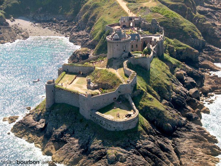 Le Fort Lalatte, Bretagne by Marc Bourbon aerophoto#powerpatate#creativité
