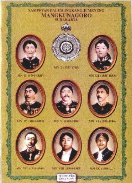 My ancestors, from Central Java kingdom