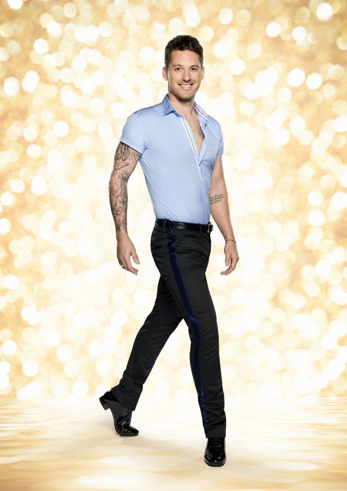 Tristan macmanus, strictly come dancing 2014 official photo