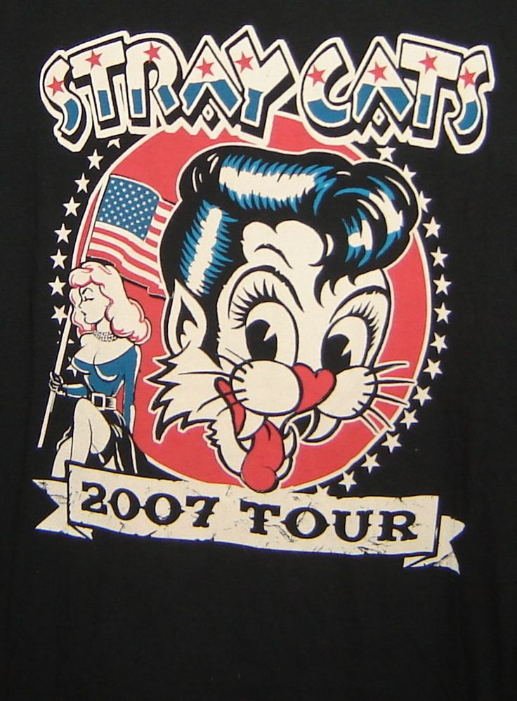 ♫'''STRAY CATS ROCKABILLY MUSIC 2007 CONCERT TOUR BLACK GRAPHIC T-SHIRT SIZE L...☺...'''♫ http://www.cafr.ebay.ca/itm/STRAY-CATS-ROCKABILLY-MUSIC-2007-CONCERT-TOUR-BLACK-GRAPHIC-T-SHIRT-SIZE-L-/321687626231?pt=LH_DefaultDomain_0&hash=item4ae613a1f7
