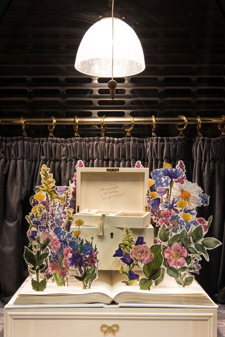 Anya Hindmarch Window Display | Chelsea Flower Show by Millington Associates
